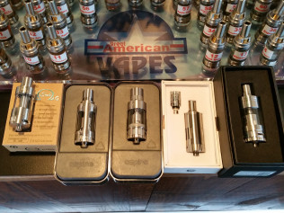 Full line of Aspire tanks,Joyetec delta 2,the new awsome smok TFV4 and the Innokin i sub set of tanks